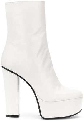 Givenchy High-Heel Platform Boots
