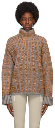 Acne Studios Multicolor Wool Rib Knit Sweater