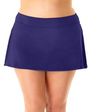 Anne Cole Plus Size Swim Skirt Women's Swimsuit