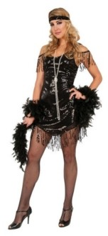 BuySeasons Women's Flapper Adult Costume