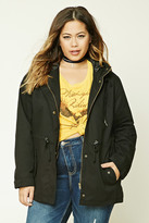 Forever 21 FOREVER 21+ Plus Size Utility Jacket
