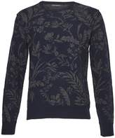 French Connection Men's Fumio Jacquard Lambswool Sweatshirt