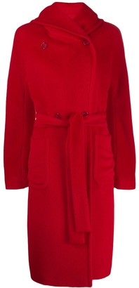 Tagliatore Daisy hooded coat