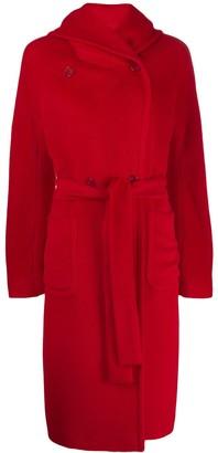 Tagliatore Daisy hooded coat