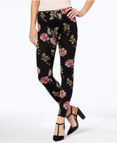 First Looks Women's Floral-Print Seamless Leggings, a Macy's Exclusive Style