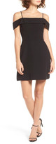 WAYF Virginia Cold Shoulder Fit & Flare Dress
