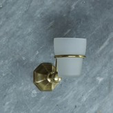 Graham and Green Octa Brass Tumbler Holder