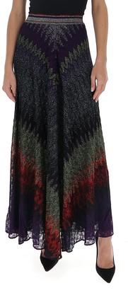 Missoni Glittered Maxi Skirt