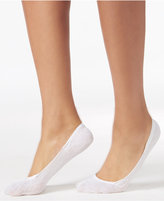 Calvin Klein Women's 2-Pk. Mesh Logo Liner Socks