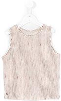 Bellerose Kids - striped tank top - kids - Cotton/Linen/Flax - 3 yrs
