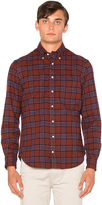 Gitman Brothers Brushed Japanese Flannel Button Down