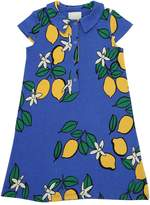 Mini Rodini Lemon Organic Cotton Blend Jersey Dress