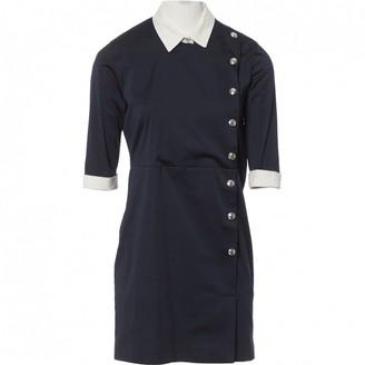 Frankie Morello Navy Polyester Dresses