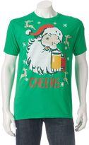 Men's Santa Cheers Tee