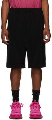 Balenciaga Black Oversize Shorts