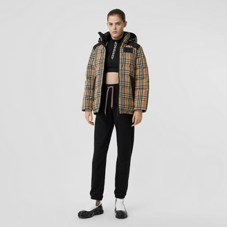 Burberry Reverible Vintage Check Recycled Polyeter Jacket