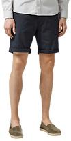 Selected Homme Paris Micro Dot Chino Shorts, Dark Sapphire