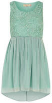 Dorothy Perkins Mint lace contrast dress