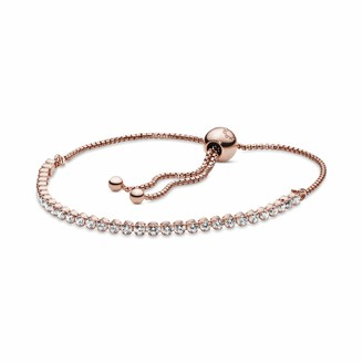 Pandora Women Gold Plated Hand Chain Bracelet - 580524CZ-1