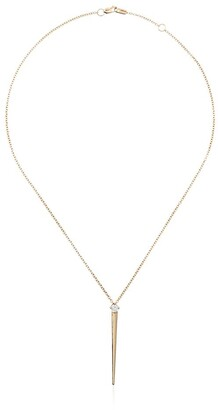 Melissa Kaye 18kt yellow gold Aria diamond necklace