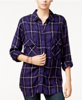 Sanctuary Plaid Boyfriend Shirt, A Macy's Exclusive Style