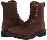 Ariat Cascade 8 Wide Square Steel Toe (Alamo Brown) - Footwear