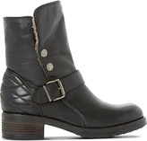 Dune Black Pacho lined leather boots