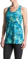 Reebok Marbelous Printed Singlet Shirt - Sleeveless (For Women)