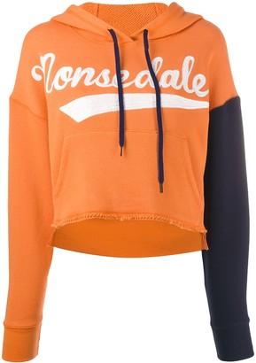 Monse Monsedale ripped hoodie