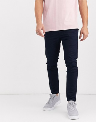 New Look skinny chino trouser in navy