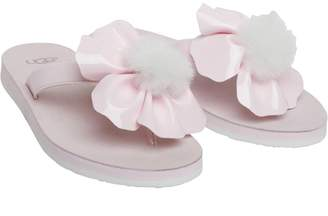 UGG Womens Poppy Sandals Seashell Pink