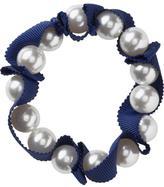 Women's Faux-Pearl Ribbon Bracelets