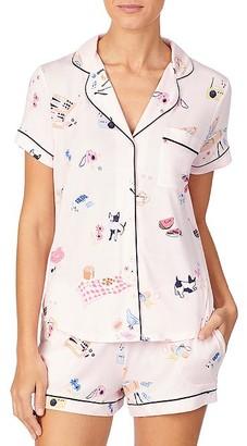 Kate Spade Picnic Modal Pajama Set