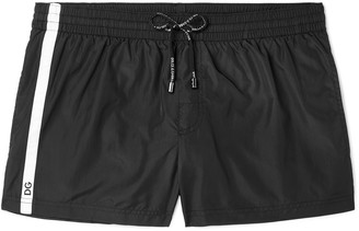 Dolce & Gabbana Short-Length Striped Swim Shorts