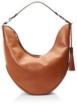 Aquatalia Slouchy Leather Hobo