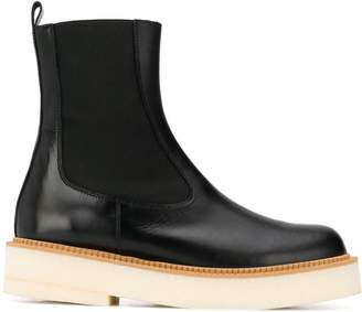 Paloma Barceló flatform ankle boots