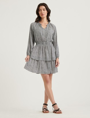 Lucky Brand Tiered Mini Dress