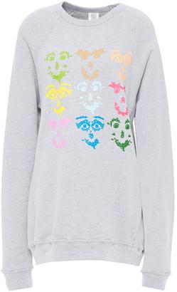 Rosie Assoulin Printed Fleece Sweatshirt