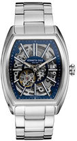Kenneth Cole Stainless Steel Skeleton Bracelet Watch