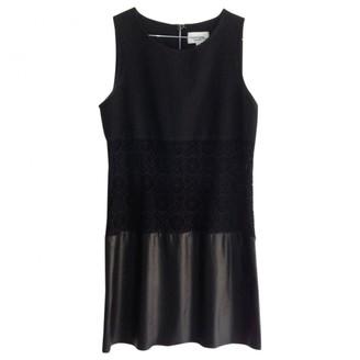 Au Jour Le Jour Black Cotton Dress for Women