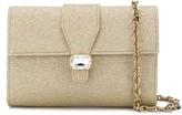Casadei jewel shimmer clutch bag