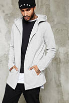 21men 21 MEN Open-Front Hooded Cardigan