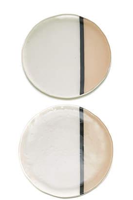 Vetro Fuso Vetrofuso Balla Set-Of-Two Dinner Plates