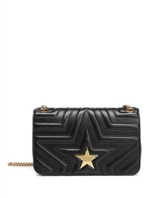 Stella McCartney Star Flap-Over Shoulder Bag