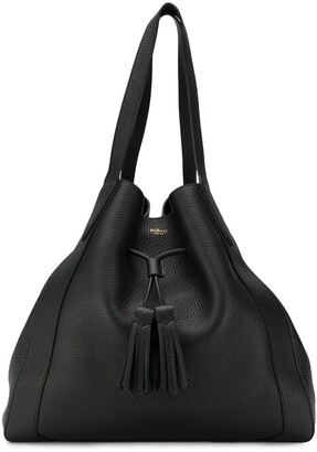 Mulberry Millie drawstring tote bag