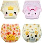 October Elf Unisex Baby Toler Potty Training Pants Reusable Pack of 4 (M, )