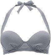 White Stuff Key Largo Stripe Bikini Top