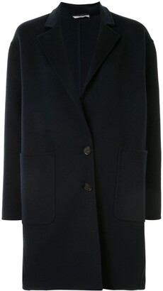 Colombo Single-Breasted Cocoon Coat