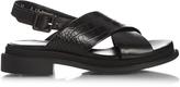 Robert Clergerie Calientek crocodile-effect leather sandals