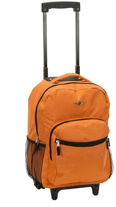 "Rockland 17"" Roadster Rolling Backpack -"